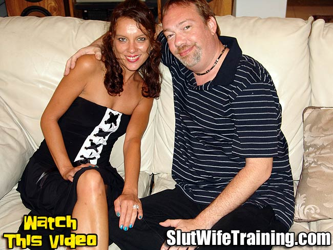 Wife Slut Trained on Video for Her Husband to Watch