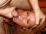 Trophy Wife Facial Cumshot