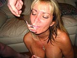 Sandy - Trained to Eat Cum